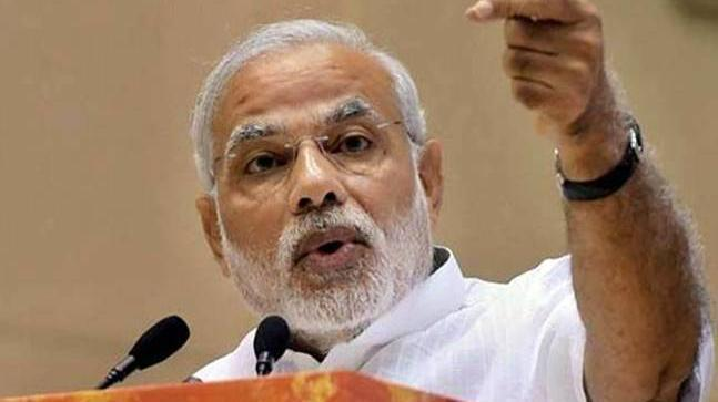 Narendra Modi in Madhya Pradesh, calls for nation wide development of Villages