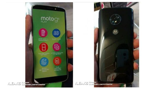 Moto G6 Play spotted in hands-on images ahead of launch