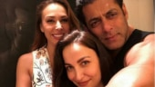 Salman Khan and Iulia Vantur finally pose together for a picture, and we can't keep calm