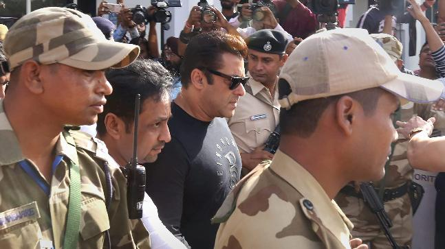 Salman Khan in Jodhpur For Black Buck Poaching Case