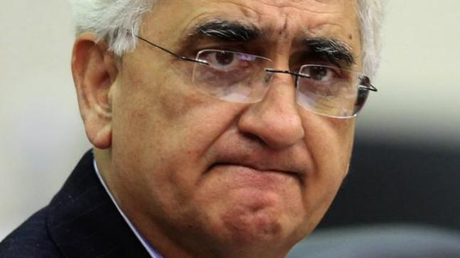 Salman Khurshid sparks new controversy, says Congress' hands stained with Muslims' blood