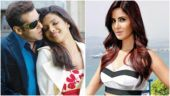 Salman Khan and Priyanka Chopra (L) and Katrina Kaif