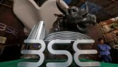 The Bombay Stock Exchange (BSE) logo is seen at the BSE building in Mumbai, India. (REUTERS/Shailesh Andrade)