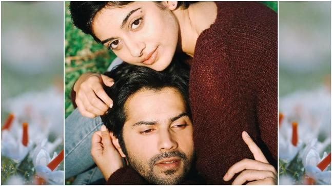 Varun Dhawan and Banita Sandhu in a still from October