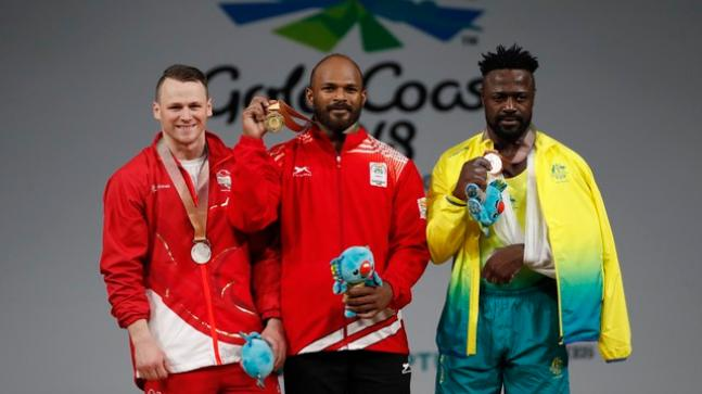 Weightlifters Sathish Sivalingam, RV Rahul win gold at 2018 Commonwealth Games