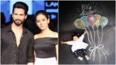 Announcing Mira Rajput's pregnancy with Misha's photo was spontaneous, says Shahid Kapoor