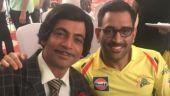 Sunil Grover and MS Dhoni