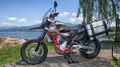 SWM showcases Superdual T adventure motorcycle for Indian market