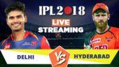 IPL Live Streaming DD vs SRH: Watch on Mobile, Hotstar, Jio TV
