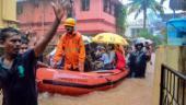 Massive flooding in coastal Karnataka following heavy rains