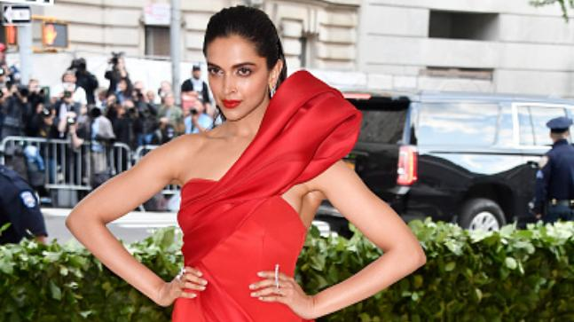 Image result for deepika in met gala 2018