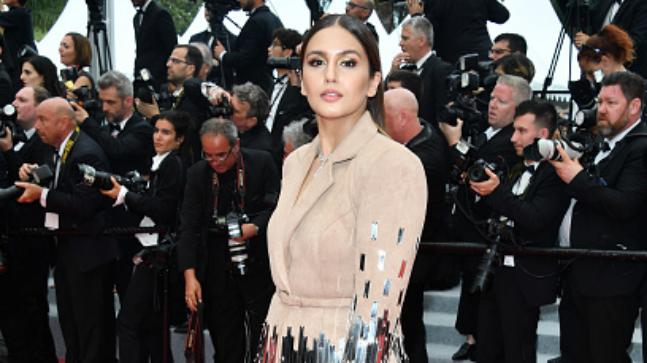 Huma wore a Nikhil Thampi creation at Cannes 2018
