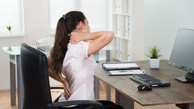 competitive price bb6bb fc50d Spinal issues are one of the main problems arising from long sitting hours  at the workplace. Do you feel pain in your ...