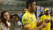 Watch: Sakshi Dhoni's high-five, Bravo's dance as CSK win third IPL title
