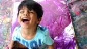 This 4-year-old boy makes paintings that sell for lakhs