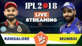 IPL Live Streaming RCB vs MI: Watch on Mobile, Hotstar, Jio TV