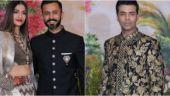 Sonam Kapoor and Anand Ahuja, Karan Johar