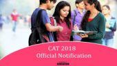IIM CAT Official Notification 2018: All you need to know
