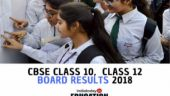 CBSE Class 10 and 12 Results 2018