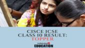 CISCE ICSE Class 10 topper announced: Check your results at cisce.org