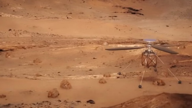 NASA is sending an autonomous helicopter to Mars in 2020