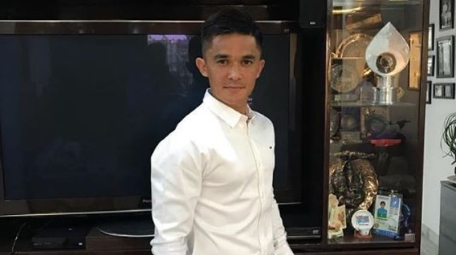 Sunil Chhetri Facebook Photo