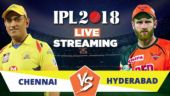 IPL Live Streaming CSK vs SRH: Watch on Mobile, Hotstar, Jio TV