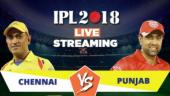 IPL Live Streaming CSK vs KXIP: Watch on Mobile, Hotstar, Jio TV