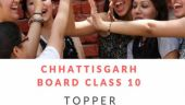 Here are the Chhattisgarh Board class 10 toppers of CGBSE 2018