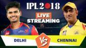 IPL Live Streaming DD vs CSK: Watch on Mobile, Hotstar, Jio TV