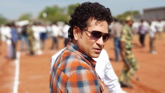 Sachin Tendulkar Twitter Photo