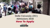 Delhi University (DU) Admissions 2018