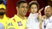 Watch: MS Dhoni's reaction as Ziva says bye to Hinaya