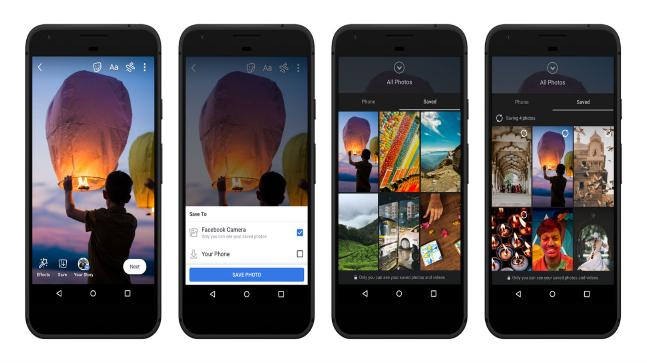 Facebook updates Stories with audio, archiving and saved clips
