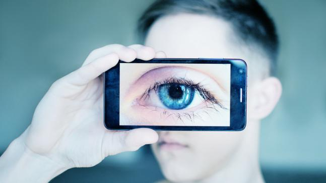 Your eye movement can be as good a judge of your English