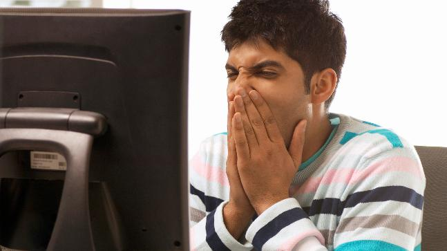 Students are glued to their computer screens to check the CBSE Class 12 result 2018. (Photo courtesy: Getty Images)