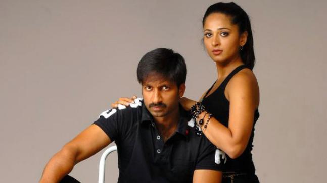 Gopichand and Anushka Shetty