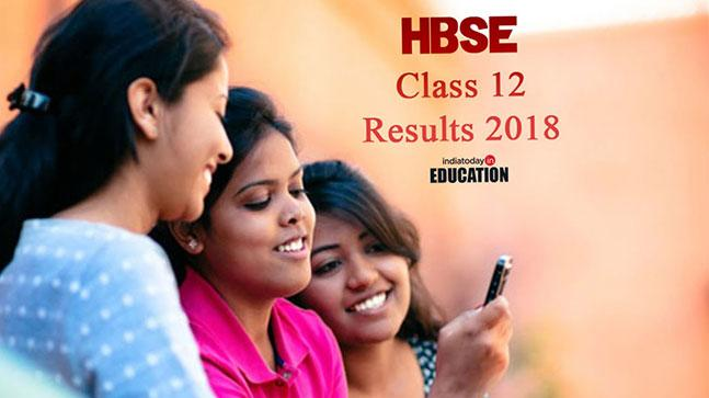 HBSE Class 12 Results 2018