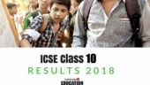 ICSE result 2018 released, 1.8 lakh students' fate awaited @ cisce.org