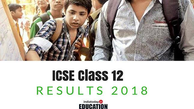 ICSE ISC results 2018 to be declared today by 3 pm