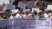 Congress organises protest march in Pune, calls Karnataka Governor biased
