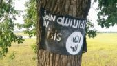 Another flag with the message 'Join in ISIS' found in Assam