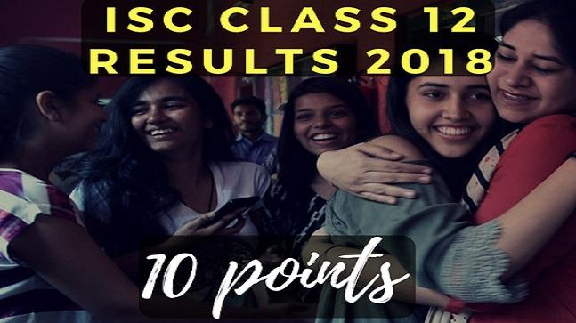 Here are 10 points about the ISC class 12 results that are going to come out on Monday, May 14