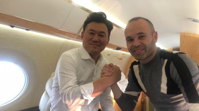 Andres Iniesta (Photo: @andresiniesta8 Instagram)
