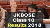 JKBOSE Class 10 Results 2018