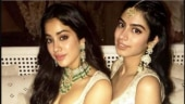 Janhvi is mobbed by fans in Mumbai, Khushi chills in Goa. See pics and video