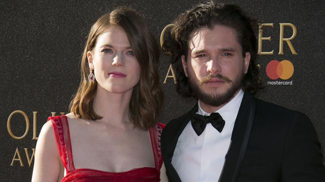 Kit Harington Rose Leslies Wedding Date Not Out Invites Sent With