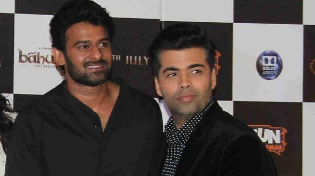 Prabhas and Karan Johar