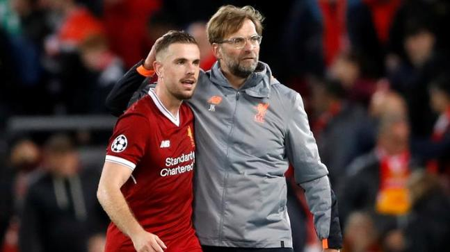 Klopp's rousing speech inspired Champions League run - Henderson