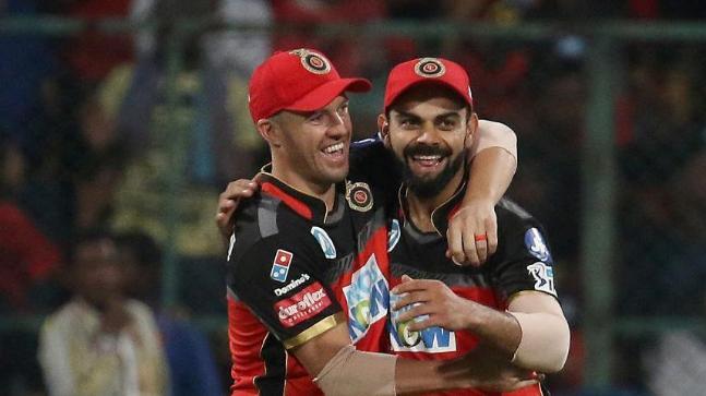 Virat Kohli and AB de Villiers (Photo: BCCI)